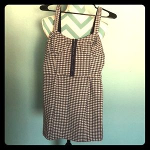 Free People gingham Bodycon dress